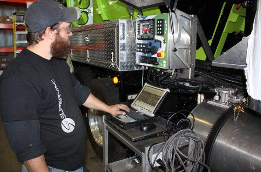 Technicien de service